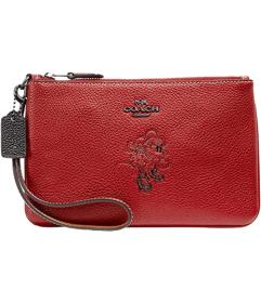COACH Box Program Minnie Motif Small Wristlet