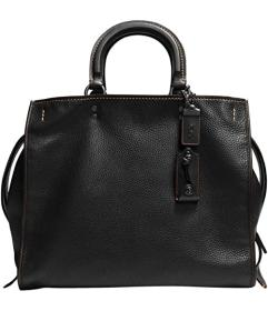 COACH Glovetanned Pebble Leather Rogue Bag 36