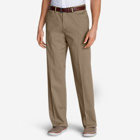 Men's Dress Performance Comfort-Waist Flat-Front K