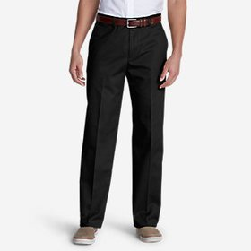 Men's Dress Performance Flat-Front Khakis - Classi