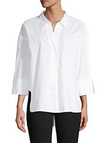 French Connection Aoko Rhodes Cotton Poplin High-L
