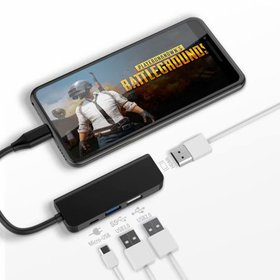 USB C to HDMI Adapter 4 in 1 Type C to HDMI 4K Mul