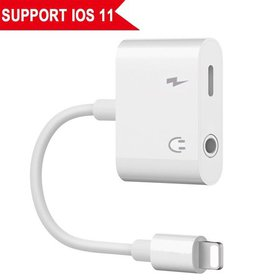iPhone 7 Aux Adapter, Sukey Lightning to 3.5mm Hea