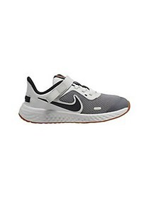 Nike Boy's Revolution 5 FlyEase Running Shoes GREY