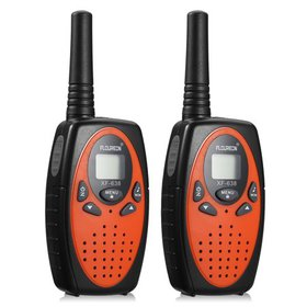 FLOUREON Walkie Talkies,2PCS Auto scan protable 22