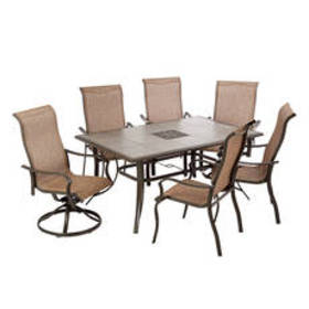 Ocean Springs 7pc. Aluminum Dining Set