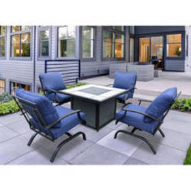 Wellington 5pc. Fire Table Seating Set