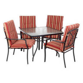 Calypso 5pc. Cushion Dining Set