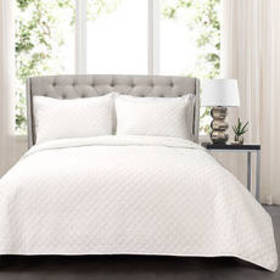 Lush Décor® 3pc. Ava Diamond Oversized Quilt Set