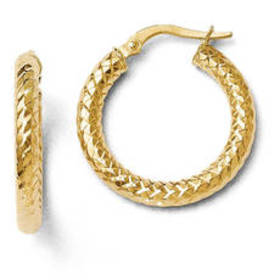 Womens Gold Classics™ 14kt. ForeverLite Polished T