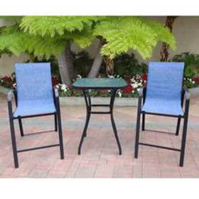 Pacifica 3pc. High Dining Set