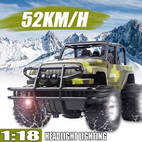 1:18 RC Car Electric Truck 4WD Remote Control Off-