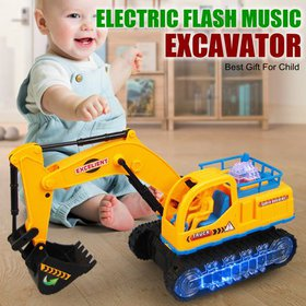 LED Light Car Toys Electronic Flashing Lights Musi