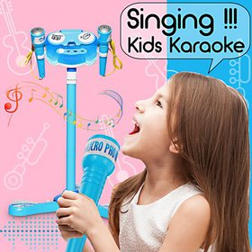 Kids Karaoke 2 Microphone toy Singing Machine Toy