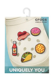 Crocs Jibbitz Trendy Food - Pack of 5