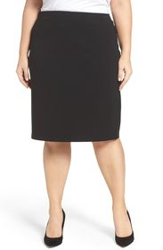 Vince Camuto Crepe Ponte Pencil Skirt