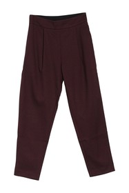 FRNCH Solid Pleated Pants