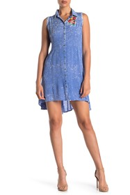 ARATTA Chelsea Pintuck Sleeveless Dress