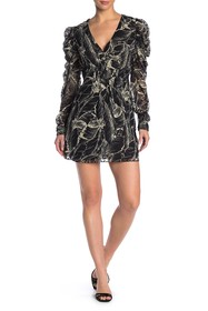 Walter Baker Adriana Long Sleeve Floral Dress