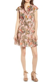 Rebecca Minkoff Ollie Ruffle Mini Dress