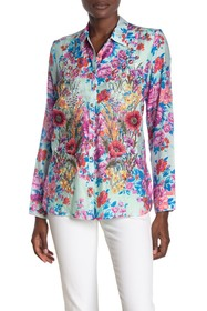 ARATTA Our Hearts Floral Embroidered Shirt