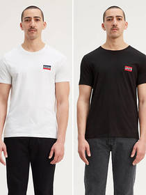 Levi's Sportswear Chest Logo Tee Shirt (2-Pack)