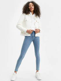 Levi's 721 High Rise Skinny Striped Women's Jeans