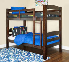 Powell Porter Wood Twin Over Twin Bunk Bed