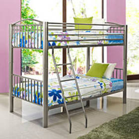 Powell Spencer Pewter Twin over Twin Bunk Bed
