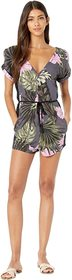 Hurley Printed Woven Romper