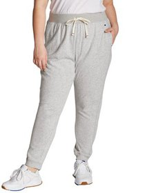 Champion Womens Plus Size Campus French Terry Jogg