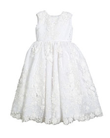 Joan Calabrese Sequin & Lace Over Tulle Dress, Siz