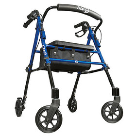 Hugo Fit Rollator Rolling Walker With Padded Seat,