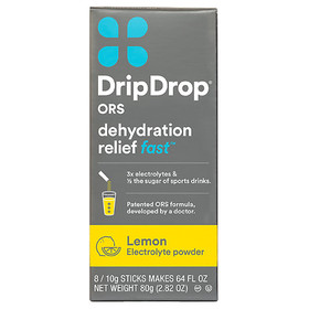 Drip Drop ORS Electrolyte Powder Lemon Lemon
