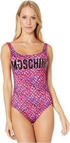Moschino Snake One-Piece Swimsuit