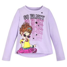 Disney Fancy Nancy Long Sleeve T-Shirt for Girls