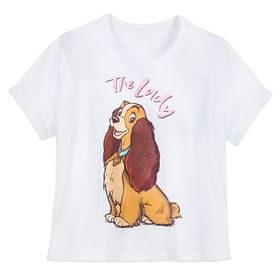 Disney Lady ''The Lady'' T-Shirt for Women – Lady