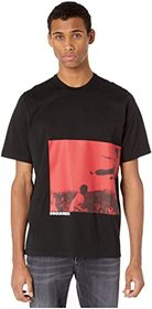 DSQUARED2 Karate Screen Print T-Shirt