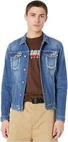 DSQUARED2 Medium Wash Dan Jean Jacket