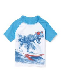 The Children's Place Short Sleeve Graphic Raglan R