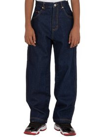 Vibes Boy's 14.5 oz Denim Carpenter Jeans Relax Fi