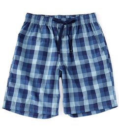 Cremieux Big & Tall Large Checked Woven Pajama Sho