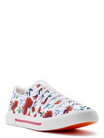 Rocket Dog Women's Jokes White Multi Cotton Sneake