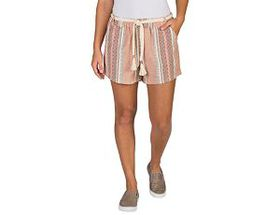 Natural Reflections Striped Pull-On Shorts for Lad