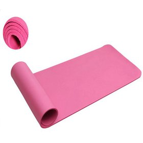 10mm Thick NBR Pure Color Anti-skid Yoga Mat 183x6