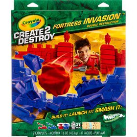 Crayola Create 2 Destroy Fortress Invasion Play Se