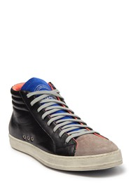P448 Skate Ribbed Mid Lace-Up Sneaker