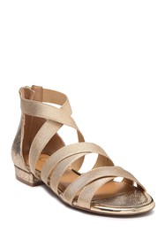 Jessica Simpson Axella Snake Embossed Strappy Sand