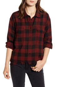 Treasure & Bond Flannel Work Shirt