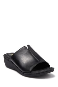 Born Bernt Slip-On Wedge Sandal